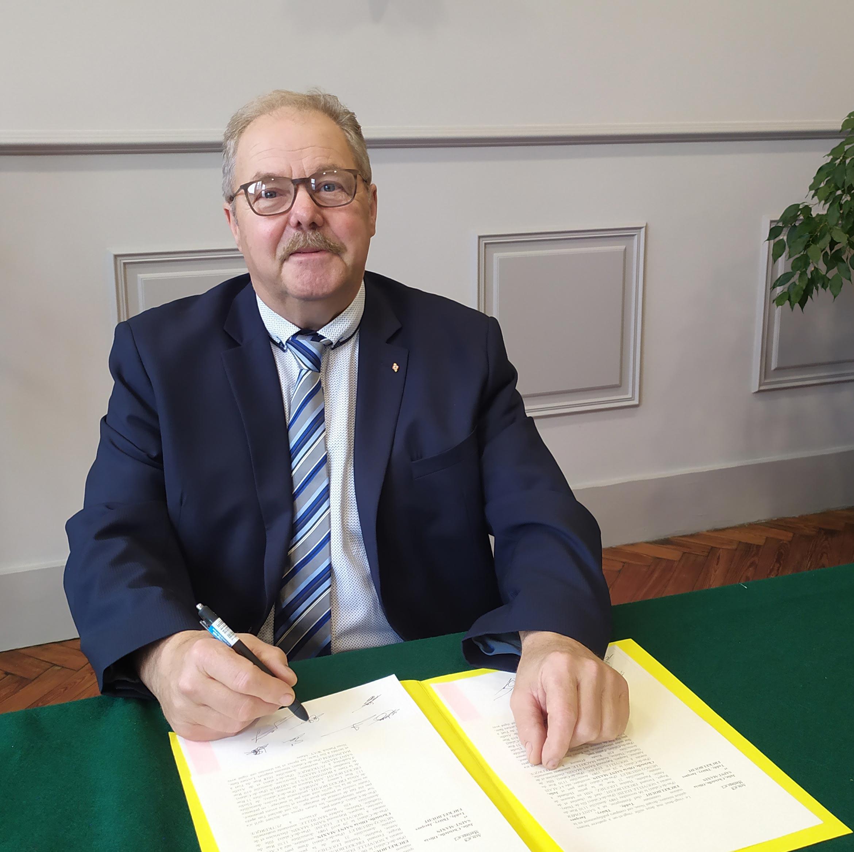 Photo de Monsieur le maire, Patrick Way