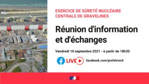 Exercice de Sureté Nucléaire: Réunion d'information et d'échanges…